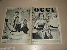 OGGI=1956/50=GIORGIO SCERBANENCO=GIULIETTA SIMIONATO=CIRCO KRONE=ORIAGO=