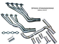 "Chevy & GMC Truck 1 7/8"" Longtube Headers & Y-Pipe 2007-2013 (4.8L, 5.3L, 6.0L)"