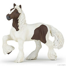 Irish Cob Rouge-marron 14 cm monde de cheval Papo 51513