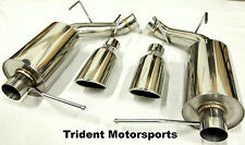Trident Motorsports 2011-2014 Ford Mustang V6 3.7 3.7L Axle Back Muffler Exhaust