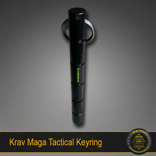 Krav Maga Self-Defence BARREL Key Ring Solid Steel Tactical