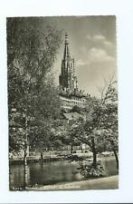 Black & White Postcard of Munster Cathedral