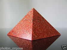 Orgone 1st Root Base Chakra Pyramid Fire Opal Ruby Jasper Red Calcite Bloodstone