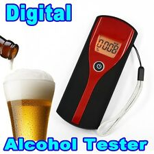 Digital Breath Alcohol Tester Alcohol Meter Analyzer Detector with LCD Display