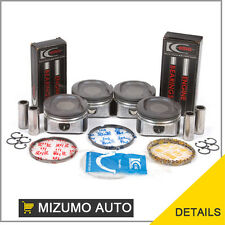 Fit 98-08 Toyota Celica Corolla MR2 Pontiac 1.8 Pistons Rings  Main Rod Bearings