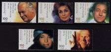 Germany 2000 Actors SG 3011-3015 MNH