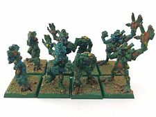 8 Dryads - 90s OOP – In Box – Warhammer Wood Elves Army – OOP – Metal - Painted