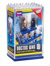 NEW Doctor Who Character Building Micro-Figure in Display Brix Mystery Blind Box