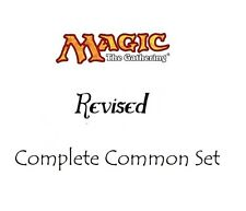 1x Complete Revised Common Set - (75 cards) - MTG Magic