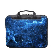 "TaylorHe 15.6"" 15"" Laptop Shoulder Bag Carry Case Handles Strap Starry Night Sky"