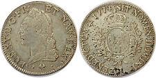 """LOUIS XV  Écu dit """"à la vieille tête"""" 1774 Bayonne G.323"""