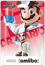 Dr. Mario amiibo (For Nintendo Wii U, Super Smash Bros. Level to 50!) Brand NEW