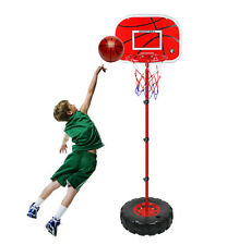 Kids Play Basketball Portable Stand Net Hoop Children Outdoor Toy Sports Gift