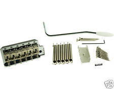 KLUSON VINTAGE STYLE TREMOLO BRIDGE MODEL KVTSN WITH STEEL BLOCK NICKEL