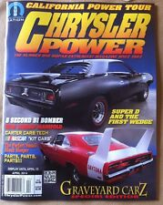Chrysler Power April 2014 FREE SHIPPING, See Pics For Details