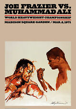 "Frazier vs Ali- Fight Poster (March 8, 1971 at MSG), 8""x10"" Color Photo"