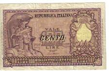 ITALY, 100 LIRE, 1951