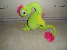 """Worrywoo Monsters 14"""" NOLA Loneliness Plush Toy Doll Worry Woo Green Dragon RARE"""