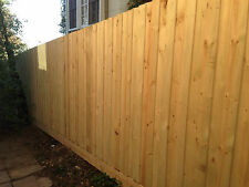Treated Pine Paling Fence Package with Cypress Pine Posts 1.95m