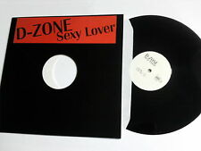 "D-ZONE - SEXY LOVER 12""MAXI  RARE DJ PROMO 90'S HOUSE DANCE DEPT. 4TRK CLUB DEEP"
