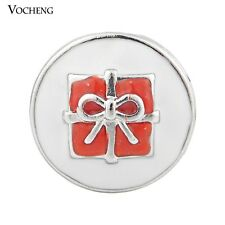 Vocheng 18mm Christmas Gift Snap Charm 2 Colors Metal Snap Button Jewelry Vn-870