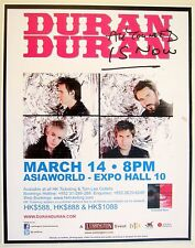 "DURAN DURAN ""ALL YOU NEED IS NOW TOUR"" 2012 HONG KONG CONCERT POSTER - Fab Five!"
