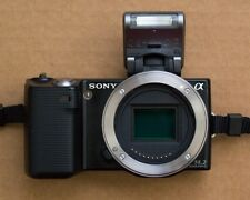 Sony Nex 5 Body only, Incl. Flash, Charger