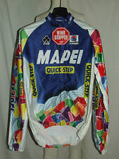 MAGLIA BICI GIACCA MANTELLINA WINDSTOPPER SHIRT CICLISMO MAILLOT MAPEI NEW tg XL