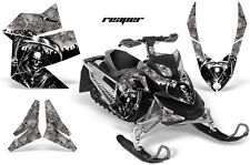 AMR Racing Sled Wrap Ski Doo Rev XP Summit Snowmobile Graphics Kit 08-12 REAPER