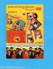 TOP971-PUBBLICITA'/ADVERTISING-1971- REGIS - COMPLETO PER IL PRIMO ANNO