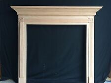 Fireplace -Mantel Surround, Oak QUICK SHIP- 48 x 42  inside opening