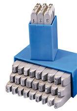 GRAVUREM-S Schlagzahlen + Schlagbuchstaben, Schlagstempel (Satz) 0-9+A-Z,& 1,5mm
