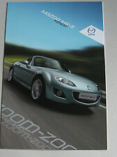 MAZDA MX-5 KENDO 2011 RANGE CAR BROCHURE. SPECIAL EDITION ROADSTER OR SOFT-TOP