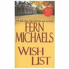 Wish List, Michaels, Fern, Acceptable Book