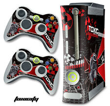 Skin Decal Wrap for Xbox 360 Original Gaming Console & Controller Xbox360 TOX R