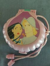 DISNEY POCAHONTAS ONCE UPON A TIME LOCKET - POLLY POCKET - 100% COMPLETE