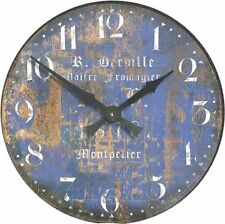 Roger Lascelles, Blue French Wall Clock