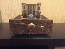 High-end tube headphone amp,marble housing,220v,6SN7,6080,EMPERADOR AUDIO №2
