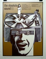 """The Absolute Sound """"Edition 2"""" poster by Gary Viskupic"""