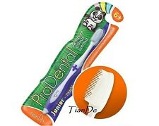 Tiande ProDental Silicone Toothbrush for children 6 years+,1 pc, colors may vary
