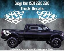Dodge Ram Vinyl Decal Graphic Truck Bed Stripes Hemi Flame Graphics 1500 2500