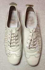 Genuine Emporio Armani Women's Shoes White Patent Size 37