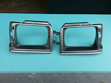 TOYOTA Starlet KP61 KP60 Headlight Surrounds, Bezel, pair - Ship Worldwide