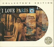 Legrand, Michel  I Love Paris GOLD CD Mastersound SBM mit Slipcase