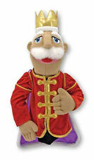 """KING ~ 17"""" Tall  HAND PUPPET # 3890 ~ Very Detailed ~ Melissa & and Doug"""