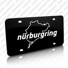 NURBURGRING Track License Plate Germany Decal VW BMW Audi Porsche Stig M3 RS4 M5