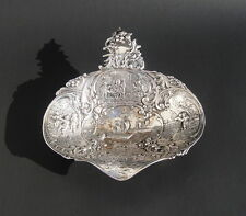 Antique German Sterling Silver Bowl Hallmarked