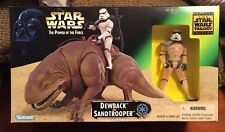 Star Wars Power of the Force Dewback and Sandtrooper