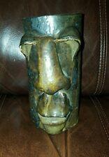 Vintage Art Pottery Face Mug Vase gorman I 974 - lot n1n