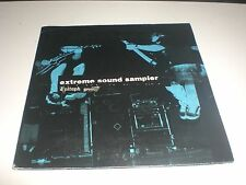 CD PROMO EXTREME SOUND SAMPLER - EPITAPH/BURNING HEART RECORDS 2002 VG+